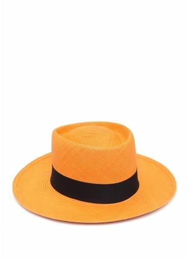 Ecua-Andino Panama Şapka Oranj